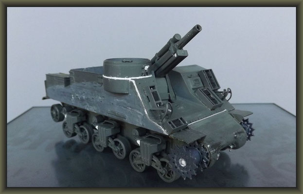 M7 HMC 'Priest' ; Diorama 1:35 ; Staging