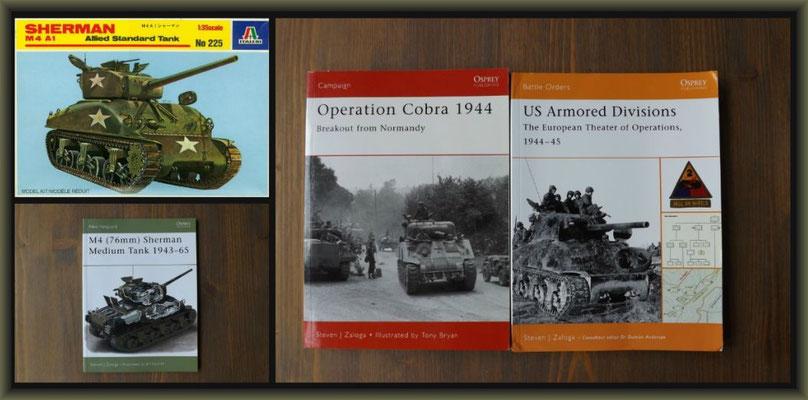 'Bushmasters' ; M4 (76mm) Sherman ; Diorama 1/35 ; Reference