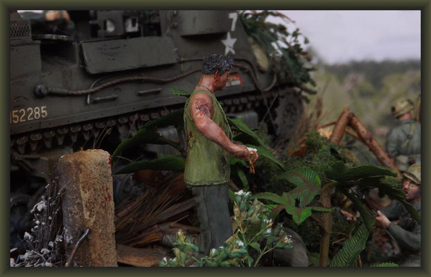 The Cuckoo's Nest,  M7B1 105mm HMC 'Priest', Okinawa 1945, Diorama 1:35