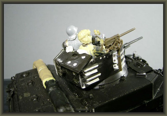 M5A1 Stuart ; Diorama 1/35 ; 3. Stage