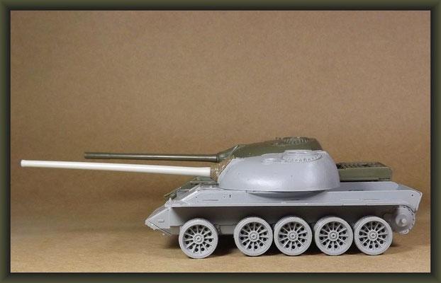 T-54-3 Tank, Diorama 1:35, Building Report Part 2