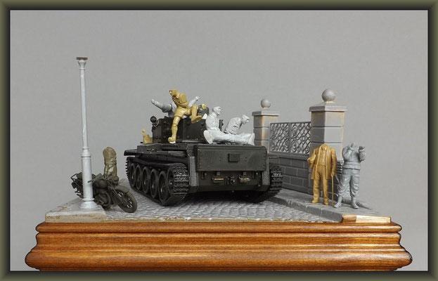 Cromwell Mk.IV ; Diorama 1:35 ; 1. Stage