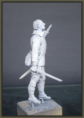 1/32 Figure Conversion ; 4. Stage
