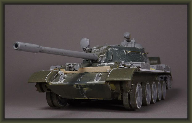 Trumpeter T-54B Conversion to T-55A, Building Report