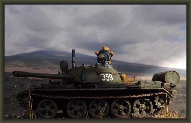 T-55A, Soviet Union 1962, Diorama 1:35