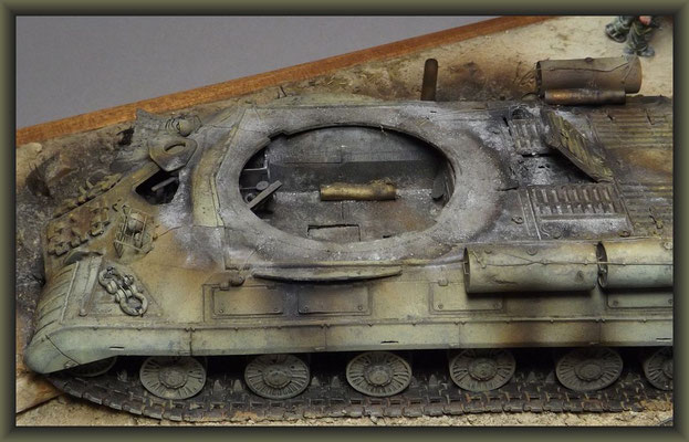 Smokin' Joe Pharaoh ; Trumpeter JS-3m ; Diorama 1/35 ; Completion