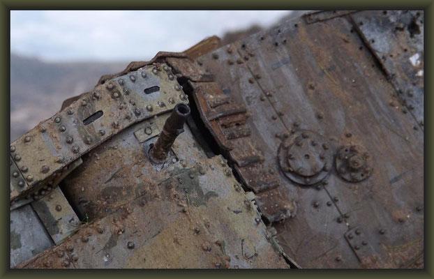 'Arras Over Tip', British Mk II Female Tank, Arras 1917, Diorama 1:35