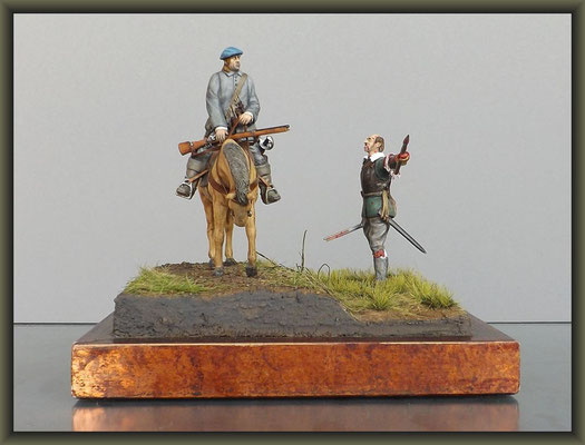 'Dragooned' ; 1/32 Figure Conversion ; Completion