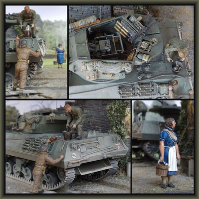Achilles British Tank Destroyer, 1:35 Diorama, Completion