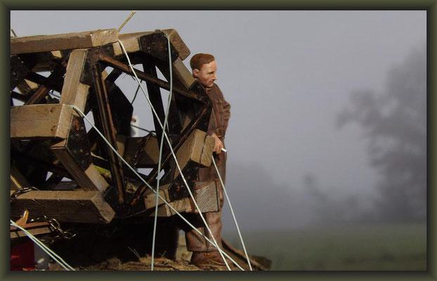 Gulliver's Travels, British Mark V 'Male' Tank, Diorama 1:35
