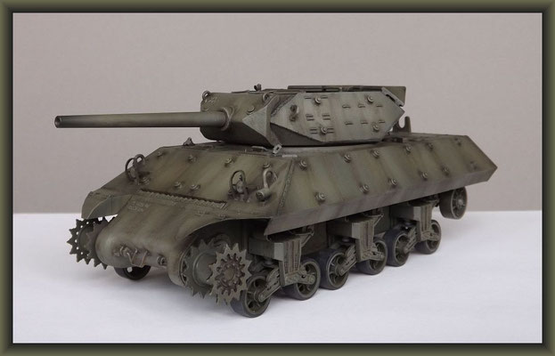M-10 TD ; Diorama 1:35 ; Stage 7