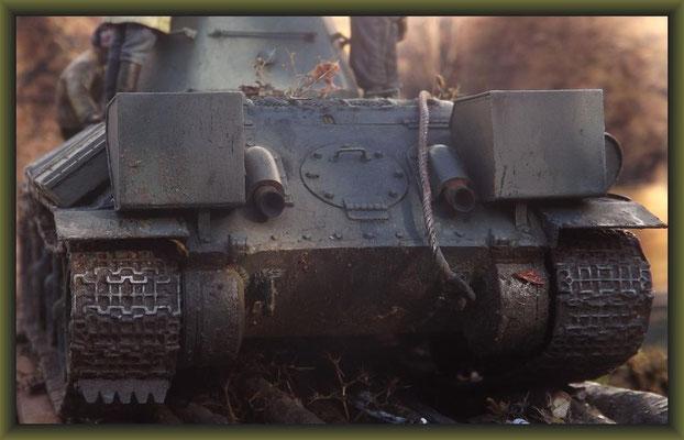 """Improvisenation"", T34/76, 1943 Production Model Tamiya MM159, Diorama 1:35, Completion"