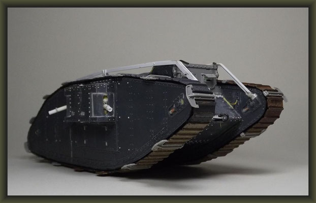 "Brit. Mk.IV ""Female"" Tank, Emhar 1:35, Building Report"