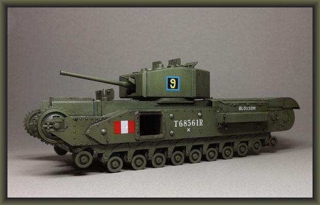 Churchill Mk.III Dieppe Raid Ver. ; Diorama 1/35 ; Stage 5