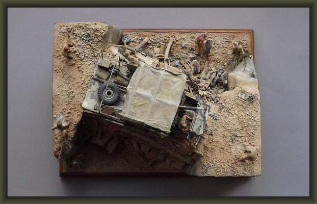 High Hopes, Bedford QL & 6 PDR. Gun, Diorama 1:35