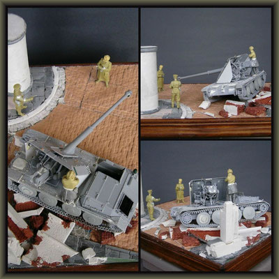 Ardelt Waffenträger / Alan ; Diorama 1/35 ; Staging