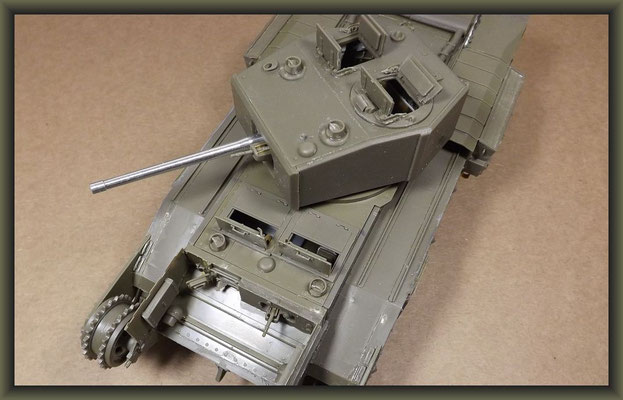 Churchill Mk.III Dieppe Raid Ver. ; Diorama 1/35 ; Stage 2