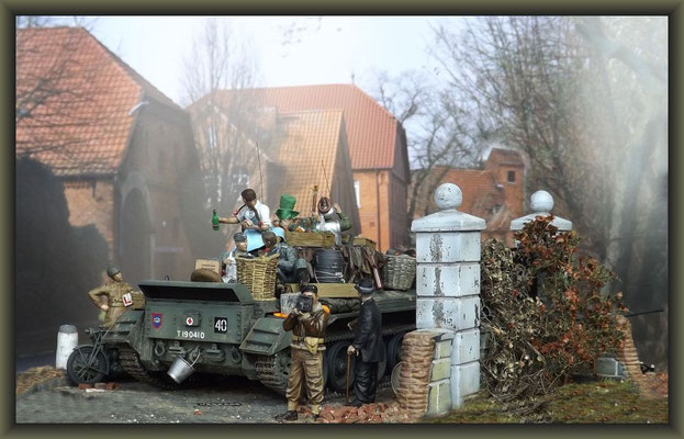 'The Wizard of Oss' ; Cromwell Mk.IV ; Diorama 1:35 ; Completion