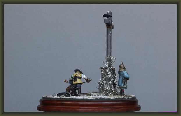 The Raven, 30 Years' War, 54mm Vignette, Completion