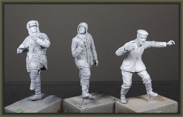 WWI Vignette ; 54mm Airfix Figure Conversion ; 5. Stage