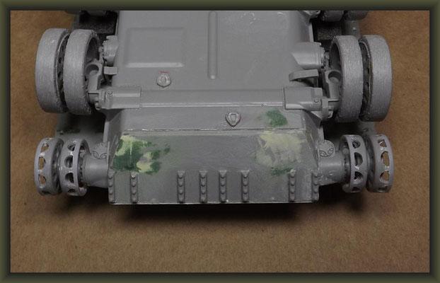 T-54-3 Tank, Diorama 1:35, Building Report Part 3