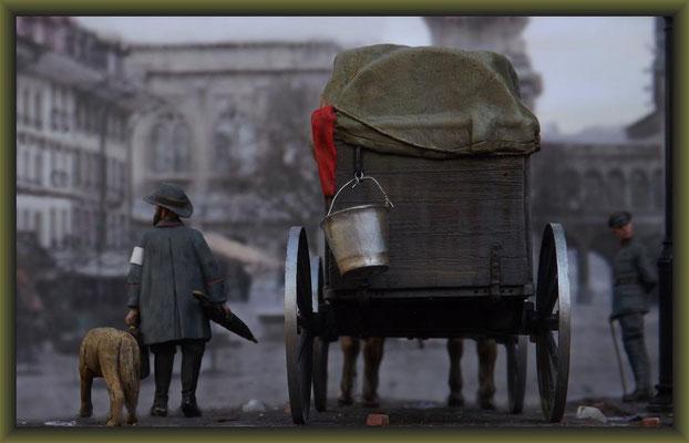 Rain Dogs, Schwerer Proviantwagen 05, Diorama 1:35