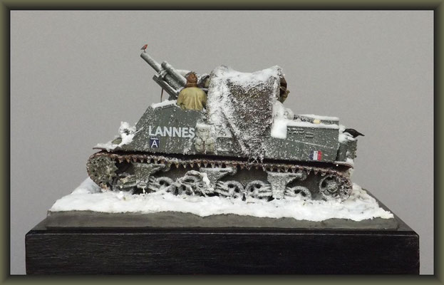 Early Birds ; M7 HMC 'Priest' ; Diorama 1:35 ; Completion