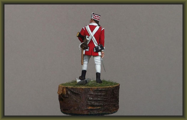 """Jack 'O' The Green"" Airfix 54mm American Soldier 1775 Figure Conversion"
