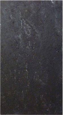 <b>Ohne Titel</b><br />2013<br />Papier und Acrylfarbe auf Baumwolle auf Papier<br />155 cm x 85 cm