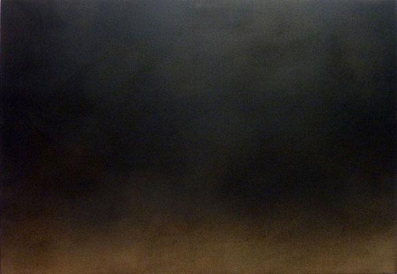 <b>Ohne Titel</b><br />2016<br />Sepiatusche auf Leinen<br />125 cm x 180 cm