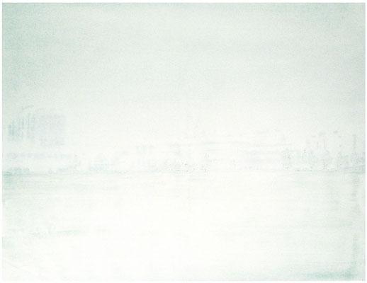 <b>Neubausiedlung</b><br />2006<br />Acryl auf Baumwolle<br />100 cm x 150 cm