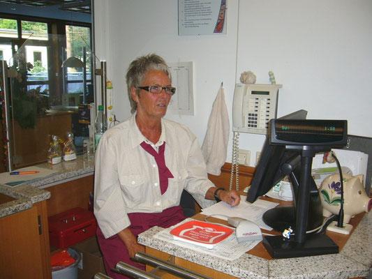 Renate, der gute Geist der Funkhaus-Kantine