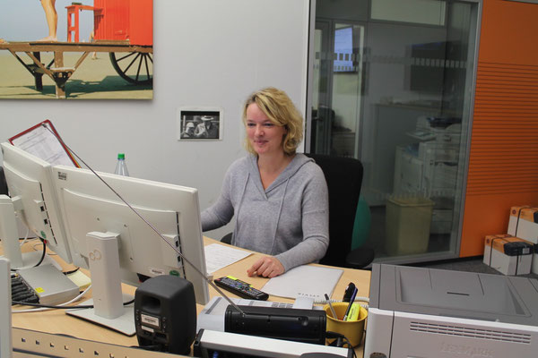 Kerstin Bostelmann, Hörfunkredakteurin Funkhaus Hannover