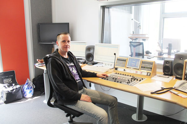 Martin Mälzer, Hörfunktechniker Studio Lüneburg