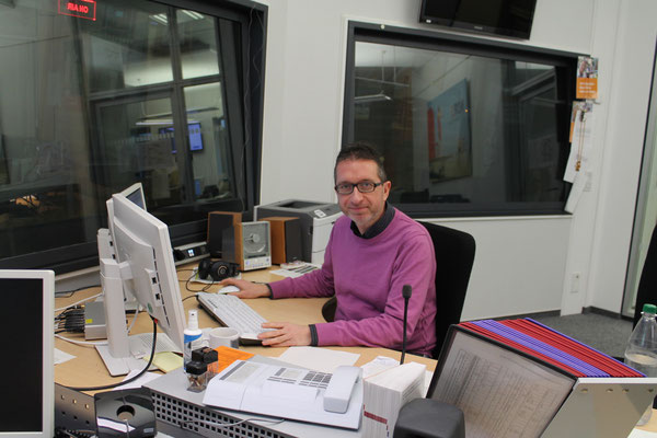 Wolfgang Kurz, Hörfunkredakteur Funkhaus Hannover