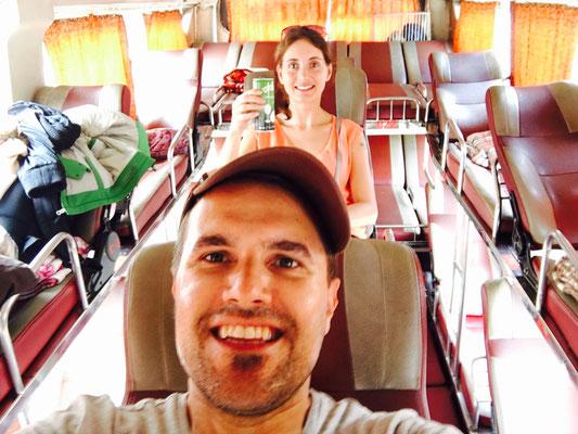 Schlafbus von Sapa nach Halong Bay