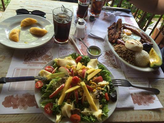 Typisches Kolumbianisches essen