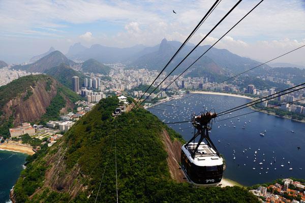 Ausblick vom Cristo Redentor - Rio de Janeiro