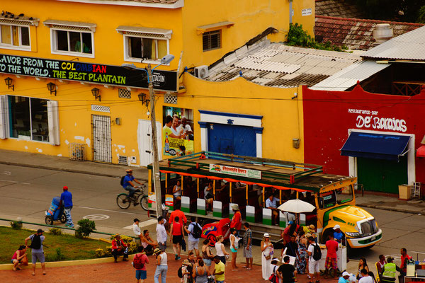Cartagena - Chiva Bus
