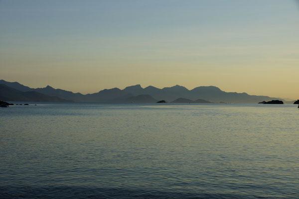 Tagesanbruch auf Ilha Grande
