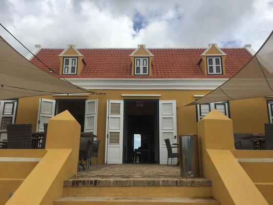 Landhuis klein Santa Martha in Curaçao