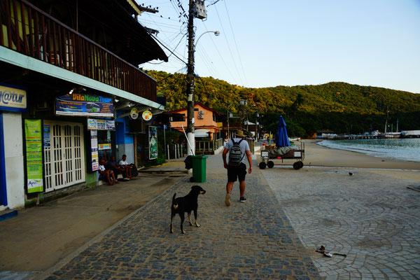 Unterwegs zum Wasserfall auf Ilha Grande