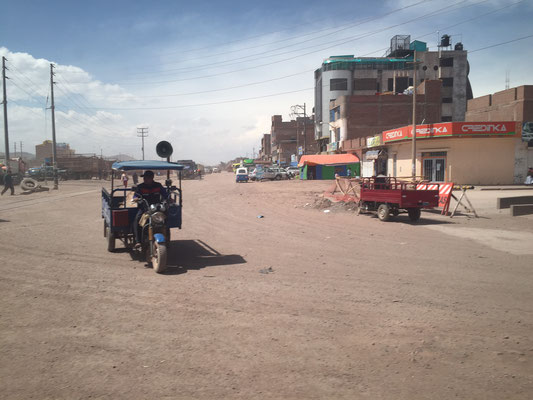 Juliaca - no place to be - on the way to Puno and Copacabana