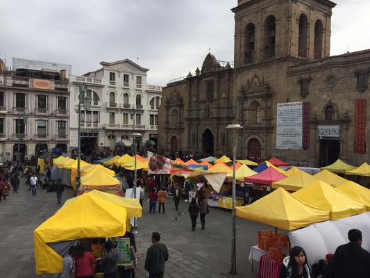 La Paz - San Francisco Cathedral