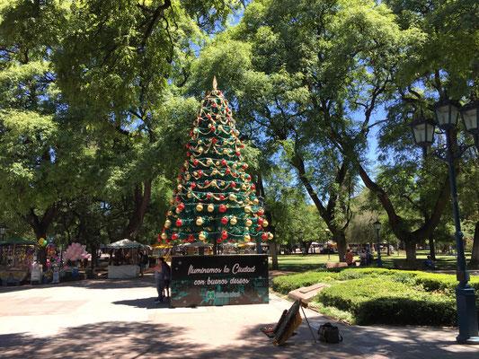 Es Weihnachtet in Mendoza