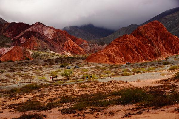 Der Berg der 7 Farben in Purmamarca