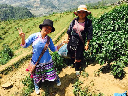 Trekkingtour in Sapa