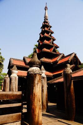 Bargaya (Teak Monastery)