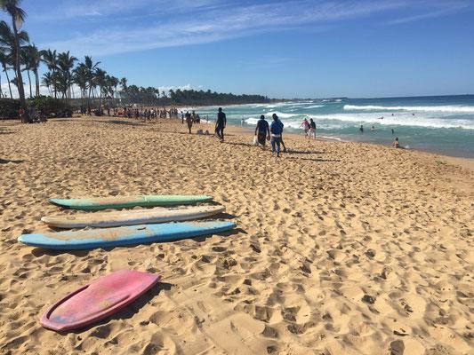 Dominikanische Republik - Playa Macao - dort wo die einheimischen zum Surfen hingehn