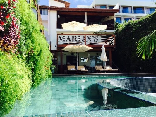 Blue Marlyn - tolles Hotel in Pipa